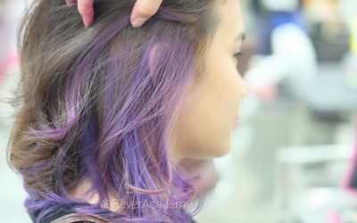In love with purple ash hair in purplish noon!